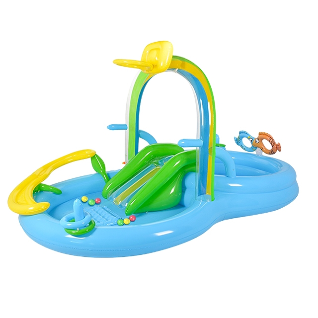 充气滑梯水池