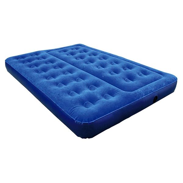 30洞双人植绒床垫