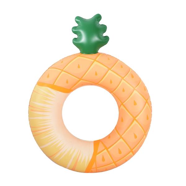 菠萝充气泳圈