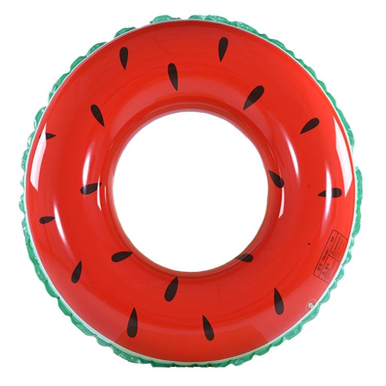 儿童西瓜泳圈充气玩具