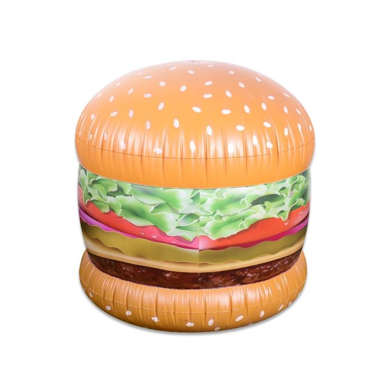 充气玩具喷水汉堡