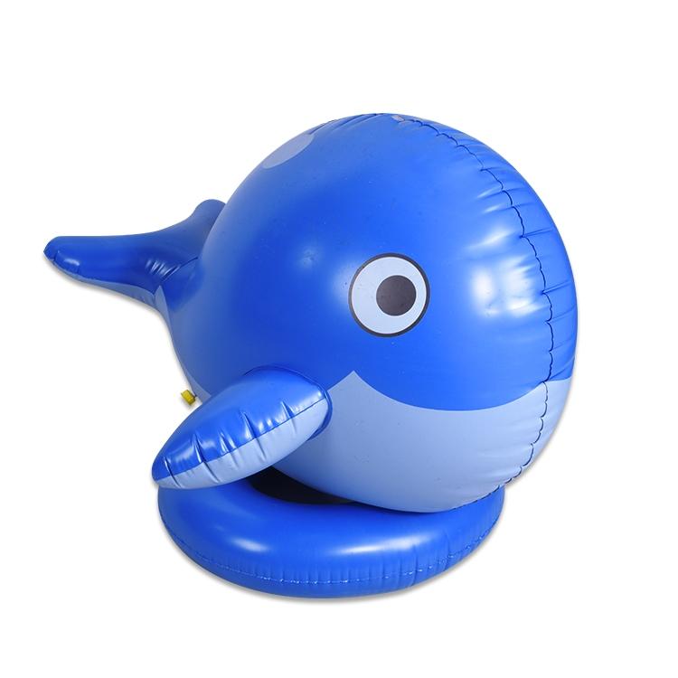 充气玩具喷水鲸鱼